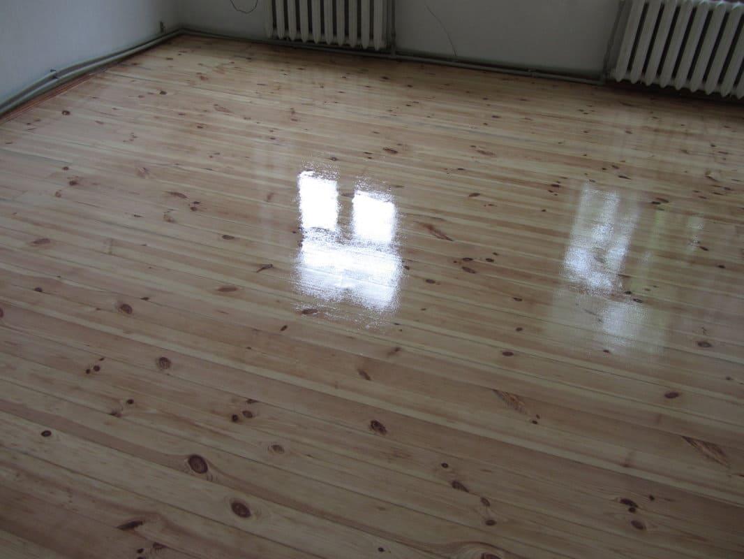 Как шлифуется деревянный пол?